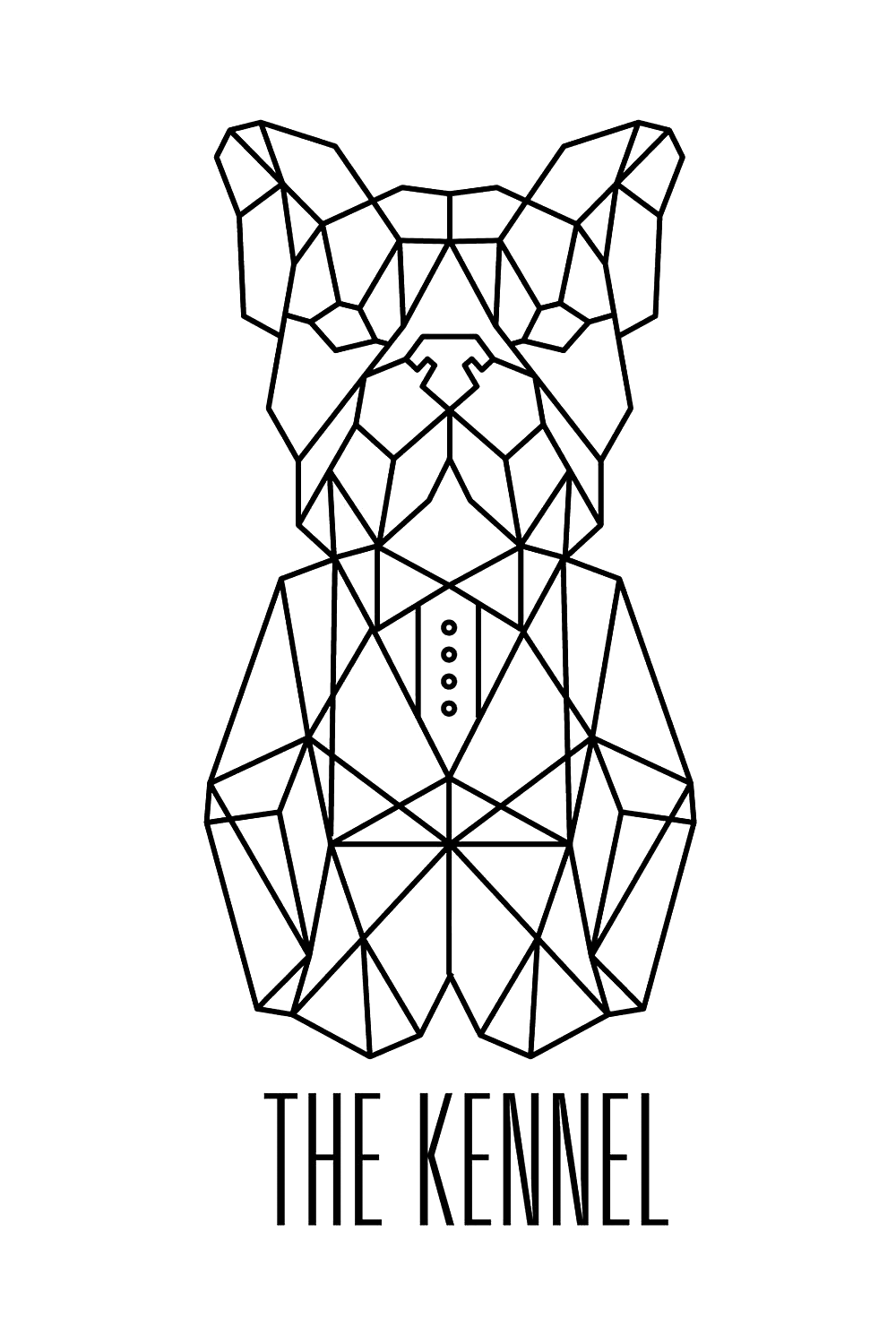 The Kennel Music vertical logo